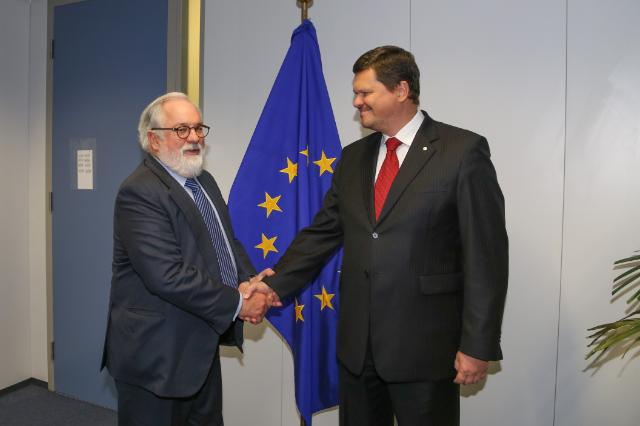 Visit of Kaspars Gerhards, Latvian Minister for Environmental Protection and Regional Development, to the EC
