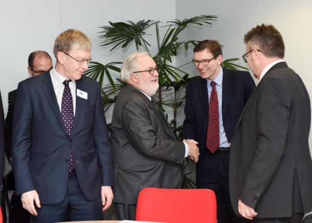 Visite à la CE de PDG d'industries à forte intensité énergétique