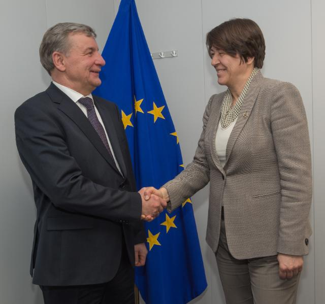 Visit of Rimantas Sinkevičius, Lithuanian Minister for Transport and Communications, to the EC