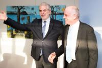 "Illustration of ""Visit of David Nabarro, United Nations System Senior Coordinator for the response to Ebola Virus Disease,..."
