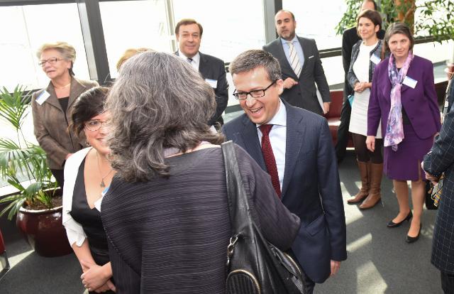 Participation de Carlos Moedas, membre de la CE, au dîner de travail 'Femmes en Science, Recherche et Innovation'