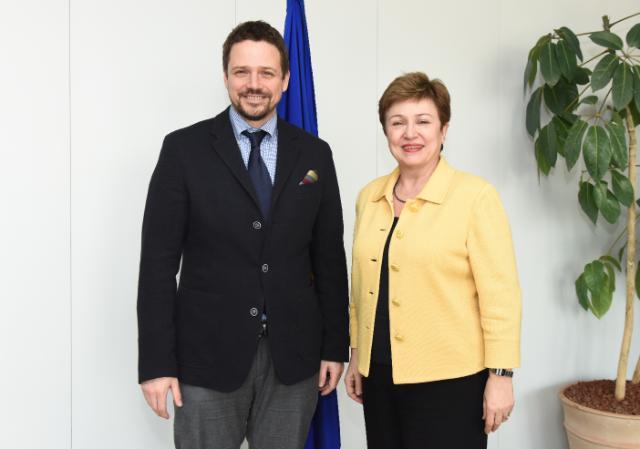 Visite de Rafał Trzaskowski, secrétaire d'État polonais aux Affaires européennes, à la CE