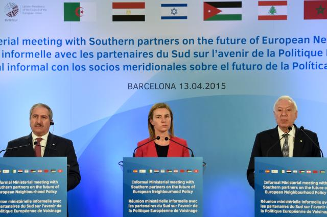 Visit of Federica Mogherini, Vice-President of the EC, and Johannes Hahn, Member of the EC, to Spain