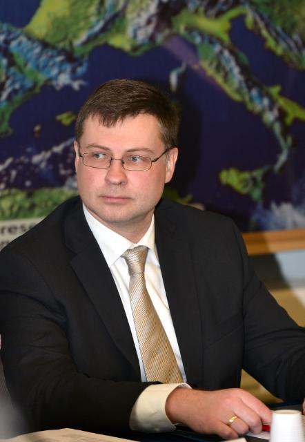 Visit of Valdis Dombrovskis, Vice-President of the EC, to Italy