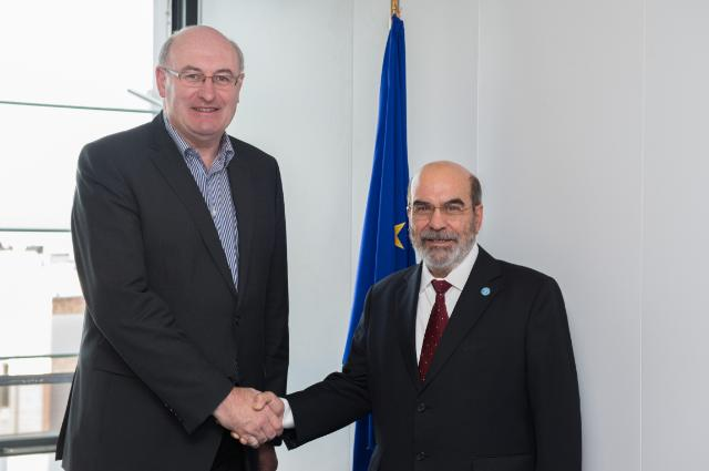 Visit of José Graziano da Silva, Director General of FAO, to the EC