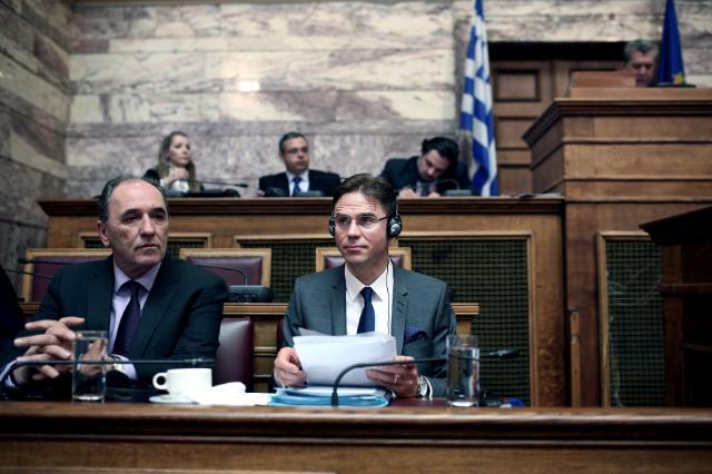 Visite de Jyrki Katainen et Dimitris Avramopoulos en Grèce