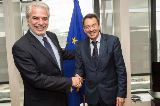Visite de Peter Maurer, président du CICR, à la CE
