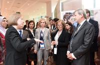"Illustration of ""Johannes Hahn opens the exhibition on the Mediterranean Cross Border Cooperation Programme"""
