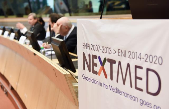 Participation of Johannes Hahn, Member of the EC, at the 'NextMed' conference as well as the opening of the exhibition on the Mediterranean Cross Border Cooperation Programme