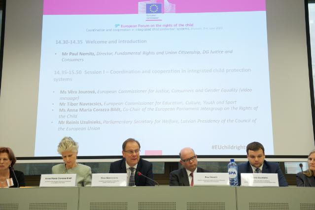 9th European Forum on the rights of the child, Brussels, 03-04/06/2015
