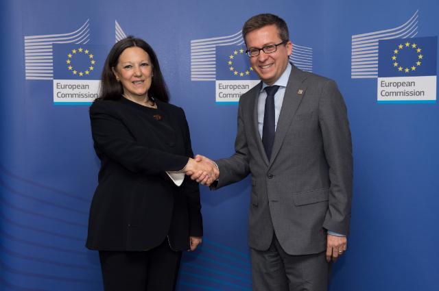 Visit of Catia Bastioli, CEO of Novamont, to the EC