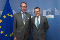 Visit of Jorge Domecq, Chief Executive of the European Defence Agency, to the EC