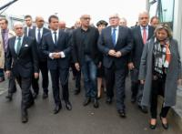 Visit of Frans Timmermans, Vice-President of the EC, and Dimitris Avramopoulos, Member of the EC, to Calais