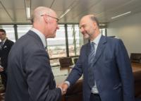 Visite de John Swinney, Premier ministre adjoint au gouvernement écossais, à la CE