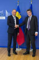 Visit of Adrian Hasler, Prime Minister of Liechtenstein, to the EC