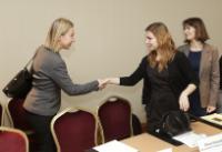Visite de Federica Mogherini, vice-présidente de la CE, en Ukraine