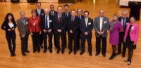 Visite à la CE des représentants du groupe de haut niveau sur le sport pour tous