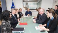 Visit of Gjorge Ivanov, President of the former Yugoslav Republic of Macedonia, to the EC