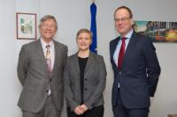 Visit of Rolf Tarrach, President of the EUA, to the EC