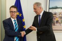 Visite de Joseph Garcia, vice-Premier ministre du gouvernement de Gibraltar, à la CE