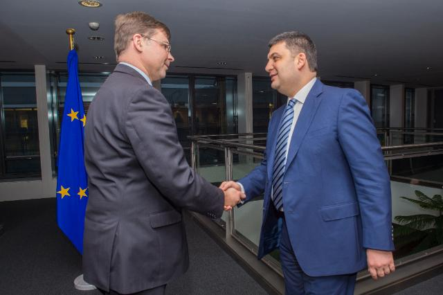 Visit of Volodymyr Groysman, Chairperson of the Ukrainian Parliament, to the EC
