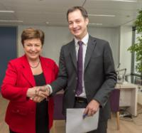 Visit of Alexander de Croo, Belgian Deputy Prime Minister and Minister for Development Cooperation, Digital Agenda, Telecommunications and Post, to the EC