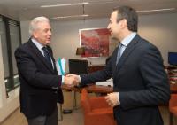 Visit of Arnaldo Abruzzini, CEO of Eurochambres, to the EC