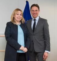 Visit of Anca Dana Dragu, Romanian Minister for Public Finance, to the EC