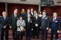Visit of members of the Romanian Senate to the EC