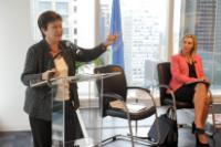 Visit of Kristalina Georgieva, Vice-President of the EC, to New York