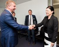 Visite de Pavlo Petrenko, ministre ukrainien de la Justice, à la CE