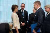 Participation of Jean-Claude Juncker, President of the EC, Valdis Dombrovskis, Vice-President of the EC, and Marianne Thyssen, Member of the EC, in the Tripartite Social Summit