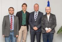 Visite des représentants du Forum européen de la jeunesse (EYF) à la CE