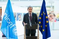 Participation of Johannes Hahn, Member of the EC, at 'Standing Strong: Human Faces of the Syrian Crisis' Photo and Drawings Exhibition