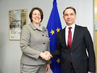 Visit of Rokas Masiulis, Lithuanian Minister for Transport, to the EC