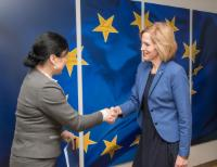 Visit of Kaia Iva, Estonian Minister for Social Protection, to the EC
