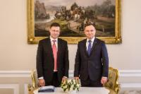 Visite de Valdis Dombrovskis, vice-président de la CE, en Pologne