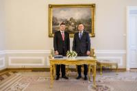 Visit by Valdis Dombrovskis, Vice-President of the EC, to Poland