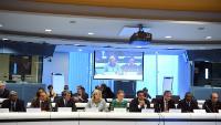 Participation de Jean-Claude Juncker, président de la CE, Karmenu Vella, and Corina Creţu, membres de la CE, 4e Forum des Régions ultrapériphériques, les terres d'Europe dans le monde: vers une stratégie renouvelée