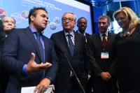 Participation of Jean-Claude Juncker, President of the EC, Karmenu Vella, and Corina Creţu, Members of the EC, in the 4th Forum of the Outermost Regions on