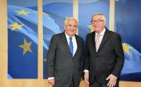 Visit of Jean-Pierre Raffarin, French Senator and former French Prime Minister, and Pierre Lequiller, Member of the French National Assembly, to the EC