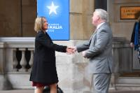 Visit by Federica Mogherini, Vice-President of the EC, to the United Kingdom
