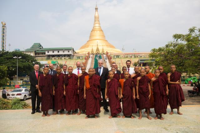 Visit by Christos Stylianides, Member of the EC, to Myanmar/Burma