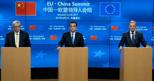 EU/China Summit, 2/06/2017