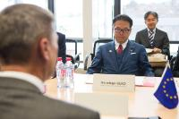 Visit of a delegation of Japanese ministers to the EC
