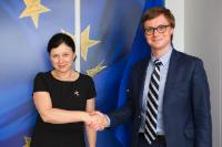 Visit of Aleš Chmelař, Czech State Secretary for European Affairs, to the EC