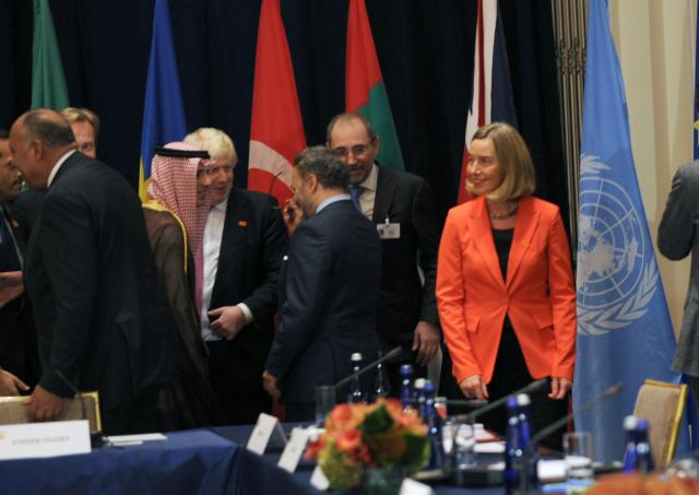Visit of Federica Mogherini, Vice-President of the EC, to the United States