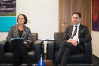 Visite de Jyrki Katainen, vice-président de la CE, au Luxembourg