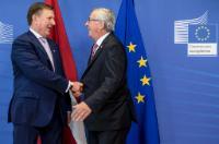 Visite de Maris Kučinskis, Premier ministre letton, à la CE