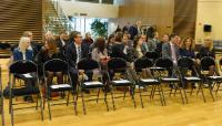 Remise des médailles de 20 ans de fonction publique européenne à la DG GROW